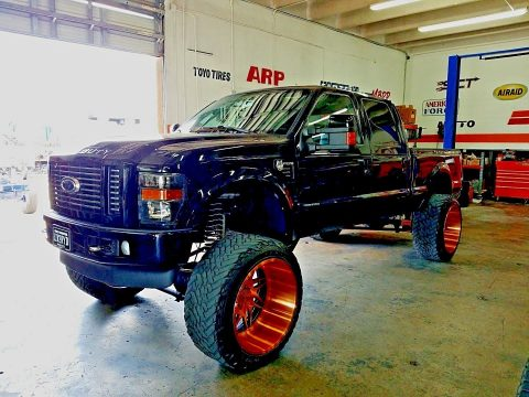 completely redone 2008 Ford F 350 Harley Davidson monster truck for sale