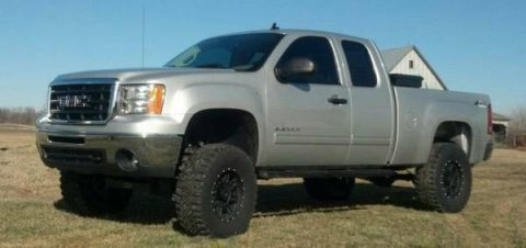 lifted 2012 GMC Sierra 1500 SLE monster truck for sale