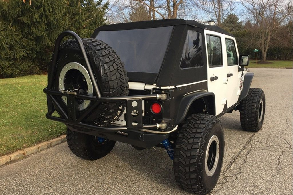 low miles 2013 Jeep Wrangler Freedom Edition monster