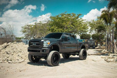 nice and clean 2015 Ford F 250 LARIAT monster truck for sale