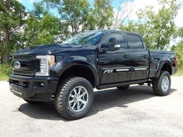 nicely modified 2017 Ford F 250 Lariat monster