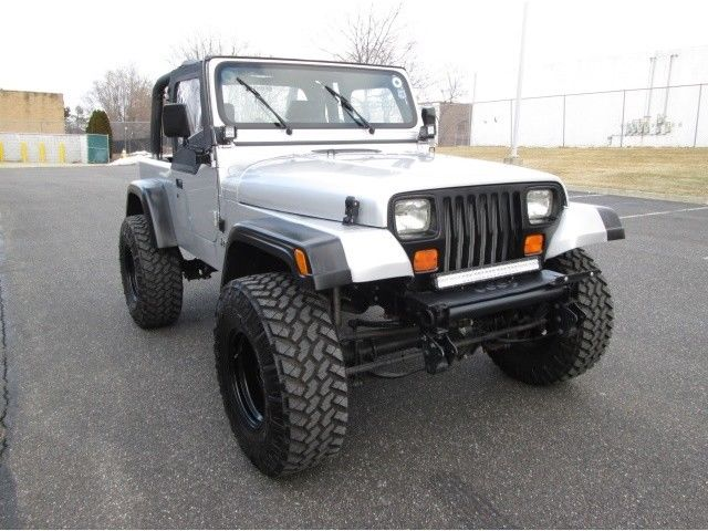 one of a kind 1995 Jeep Wrangler monster
