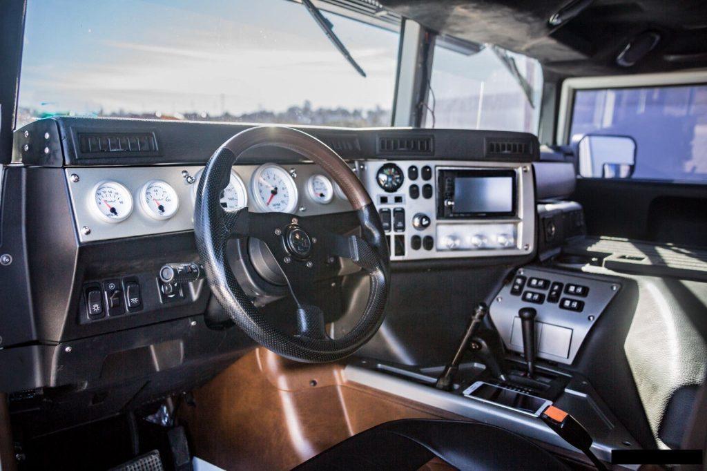 pampered 1995 Hummer H1 monster truck