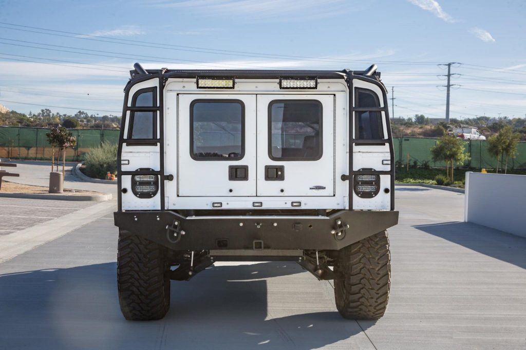 pampered 1995 Hummer H1 monster truck