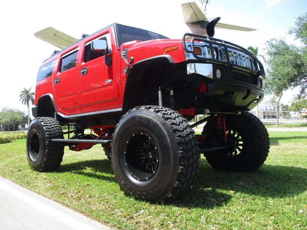 show truck 2004 Hummer H2 monstetr truck