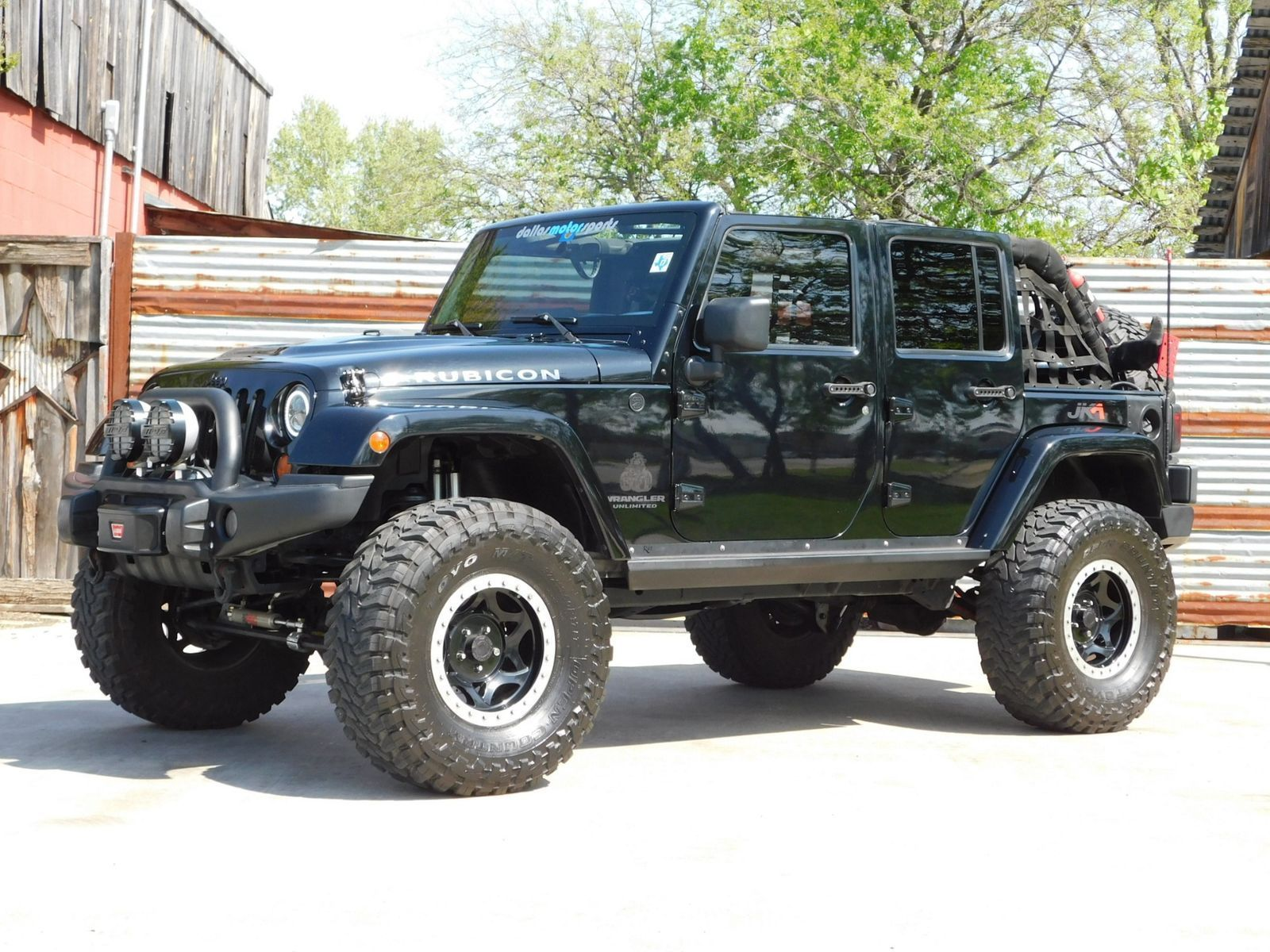 Very Clean 2007 Jeep Wrangler Unlimited Sahara Monster