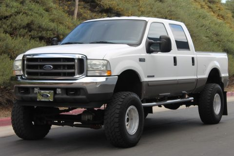 low miles loaded 2003 Ford F 250 Lariat SHOW monster Truck for sale