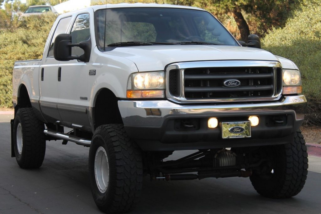 low miles loaded 2003 Ford F 250 Lariat SHOW monster Truck