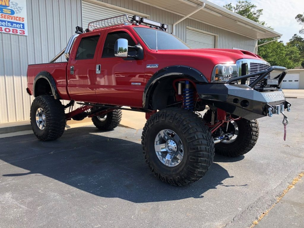 many upgrades 2006 Ford F 250 lariat monster truck