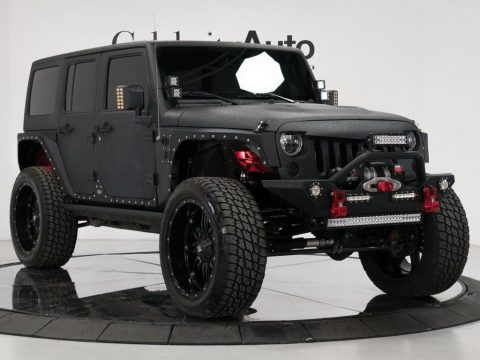 Supercharged 2015 Jeep Wrangler Unlimited Rubicon monster truck for sale
