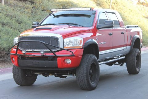 upgraded 2006 Dodge Ram 3500 Laramie MEGA CAB monster truck for sale