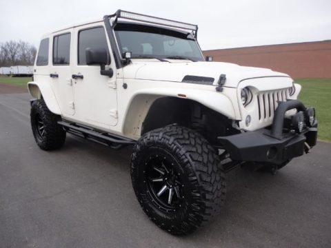 Upgraded Suspension 2014 Jeep Wrangler monster truck for sale