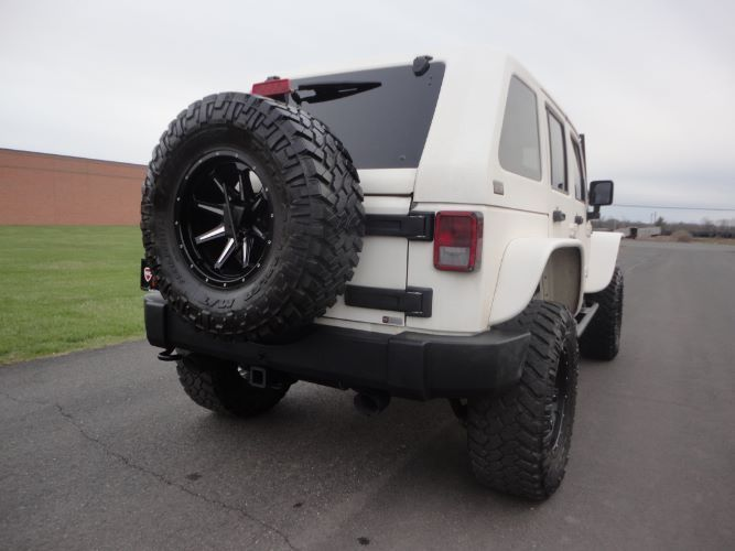 Upgraded Suspension 2014 Jeep Wrangler monster truck