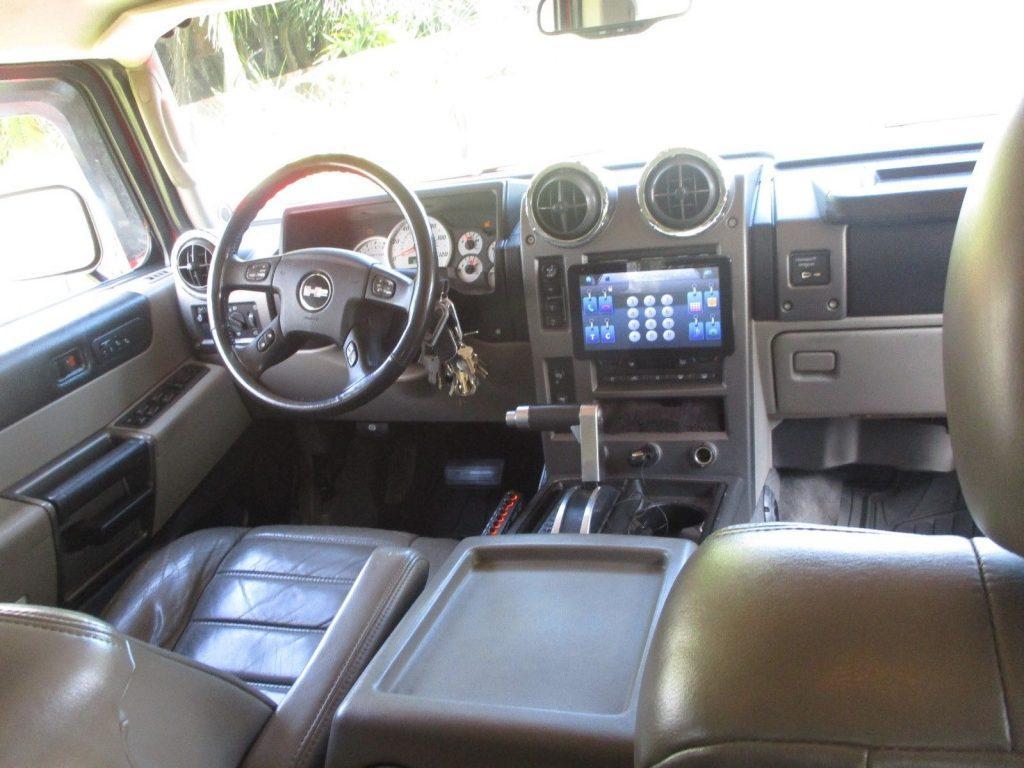 custom built 2004 Hummer H2 monster truck
