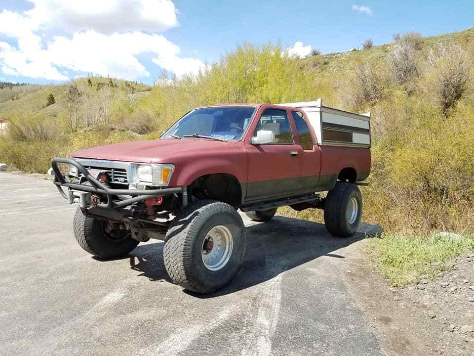 custom driveshaft 1989 Toyota monster truck