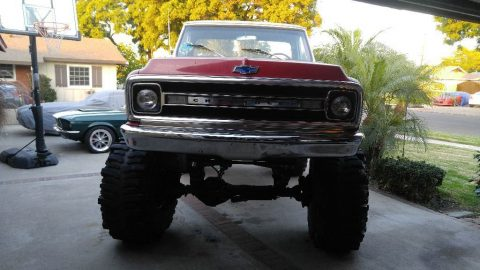custom lifted 1969 Chevrolet C 10 4X4 monster truck for sale