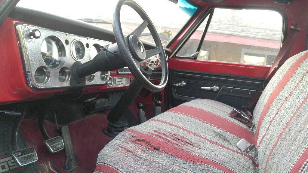 custom lifted 1969 Chevrolet C 10 4X4 monster truck
