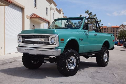 lifted custom 1969 Chevrolet Blazer monster truck for sale