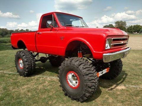 pampered 1967 Chevrolet C 10 monster truck for sale