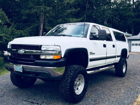 rare 2002 Chevrolet Silverado 2500 HD LT monster truck for sale