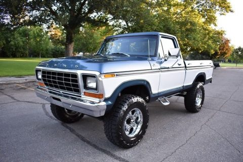 restored 1979 Ford F 150 Ranger monster truck for sale