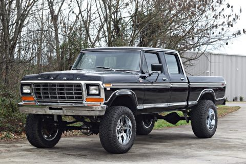 vintage 1978 Ford F 250 crew cab 4×4 monster truck for sale