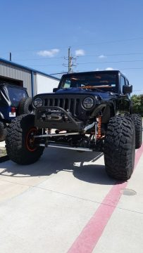 custom built 2009 Jeep Wrangler Saharam monster truck for sale