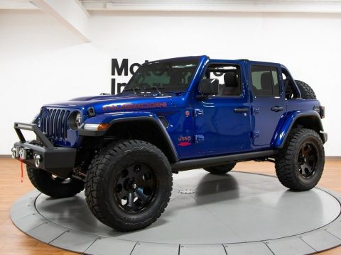well modified 2018 Jeep Wrangler Rubicon monster truck for sale