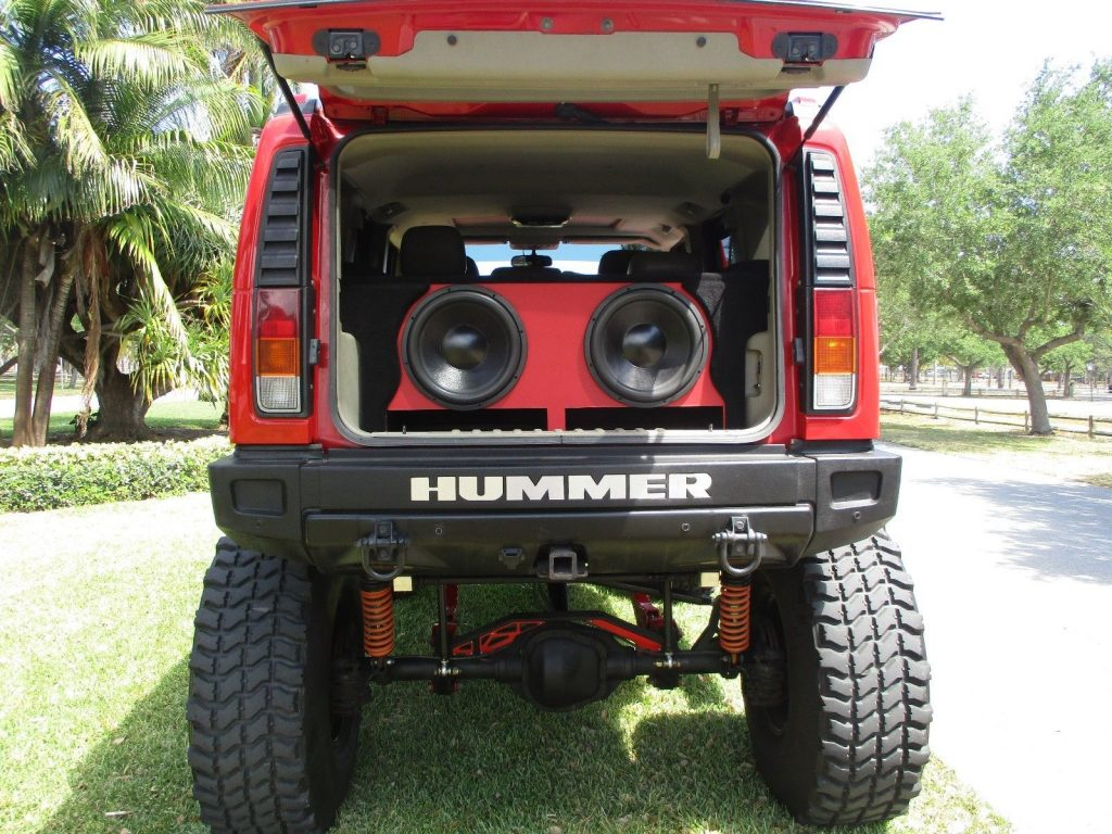 awesome build 2004 Hummer H2 monster truck