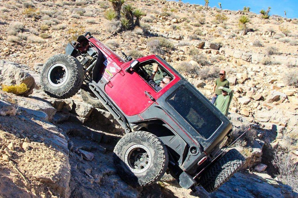 rock crawler 2012 Jeep Wrangler S monster