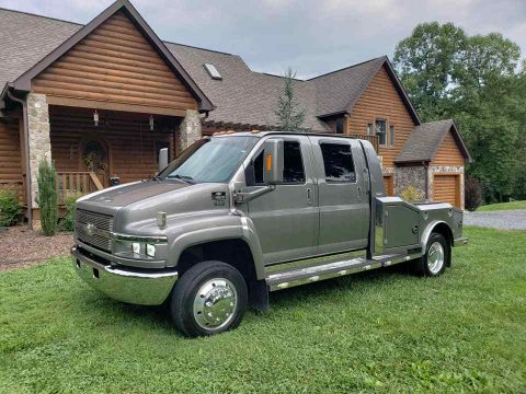 aluminium bed 2008 Chevrolet Kodiak C4500 Pickup monster truck for sale