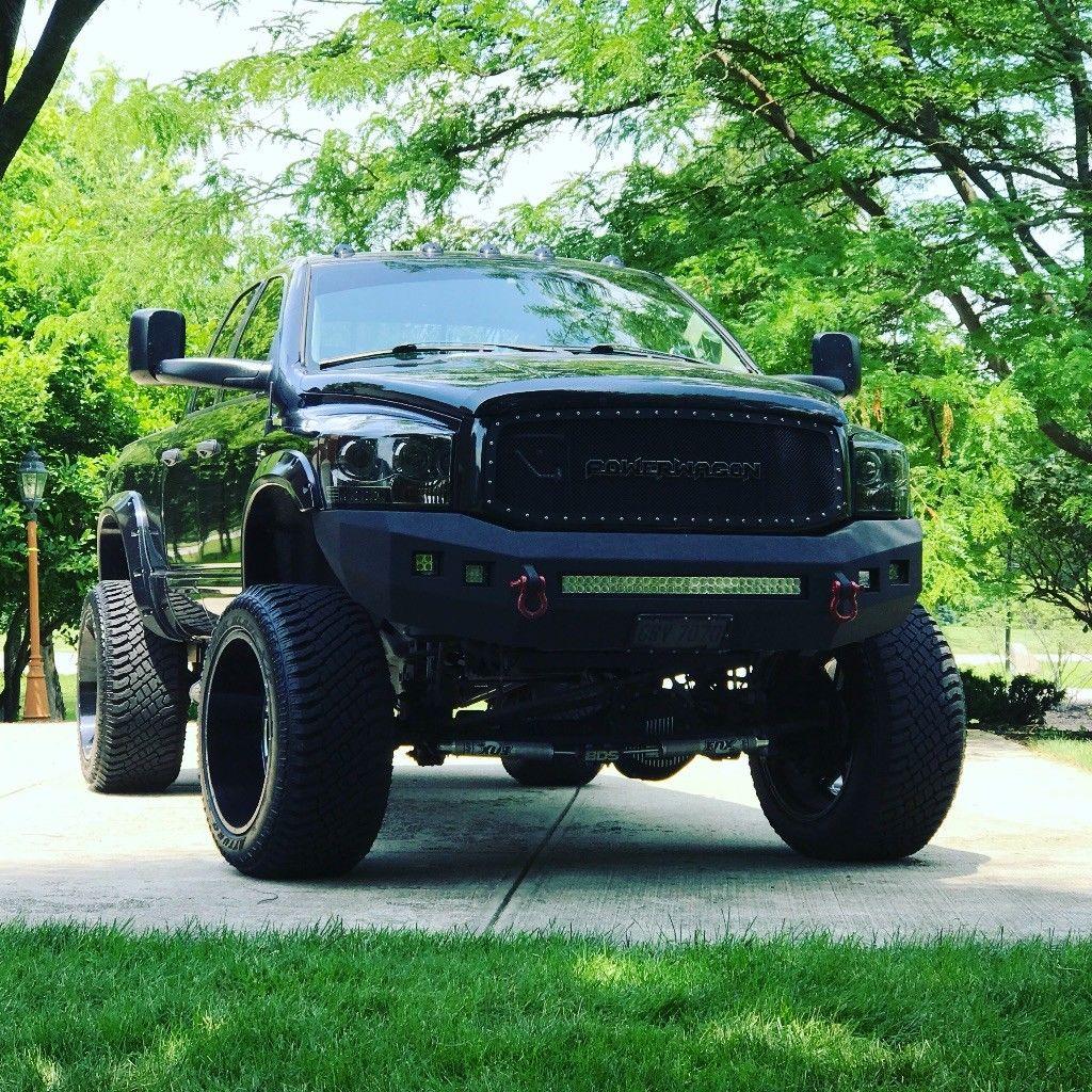 badass 2009 Dodge Ram 2500 monster truck