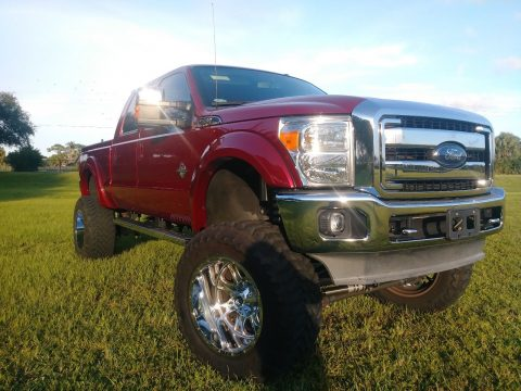 loaded 2013 Ford F 350 Lariat monster truck for sale