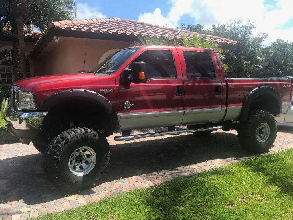 phenomenal 2003 Ford F 250 XLT monster truck