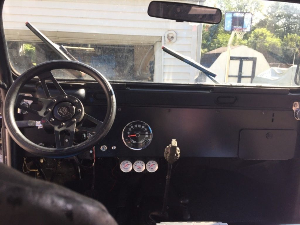upgraded 1974 Jeep CJ monster