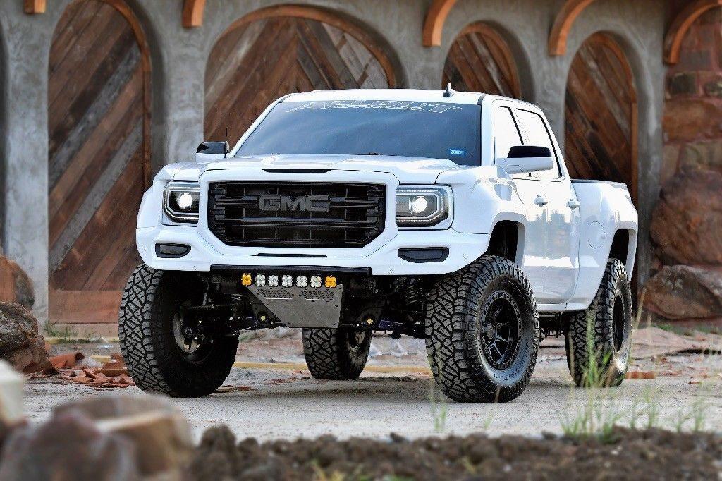 2017 GMC Sierra 1500 SLT monster truck