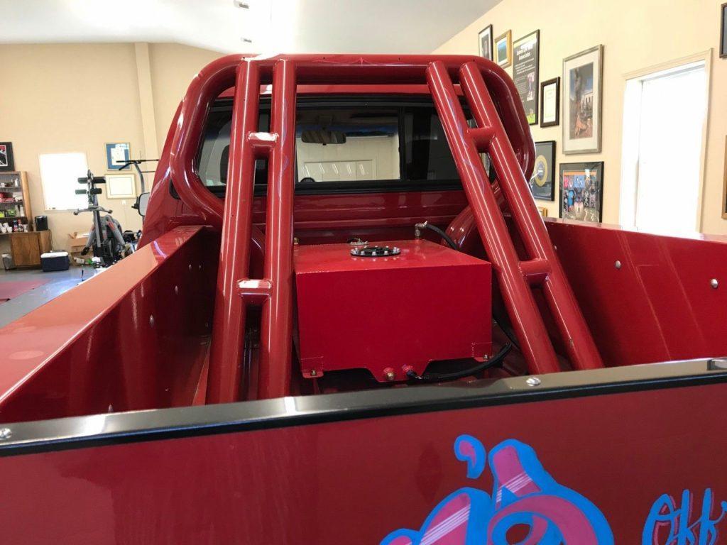 badass 1984 Toyota Tacoma SR5 monster truck