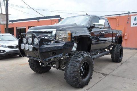 badass 2011 Chevrolet Silverado 2500 monster truck for sale