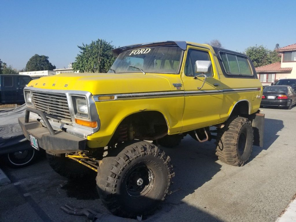 custom built 1979 Ford Bronco Ranger monster
