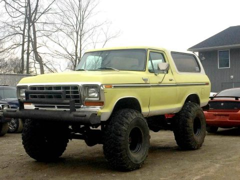indestructible 1979 Ford Bronco XLT monster for sale
