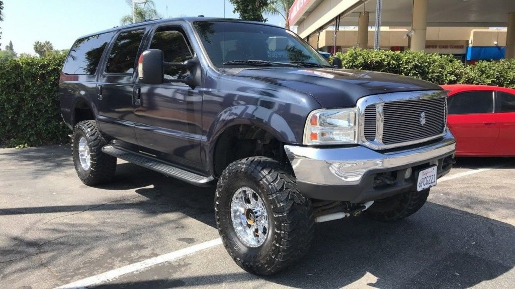 loaded 2000 Ford Excursion LIMITED monster truck