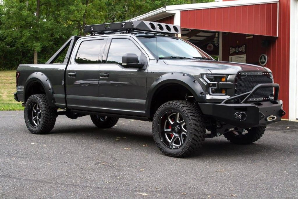 low miles 2016 Ford F 150 Super Cab monster truck