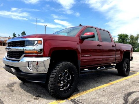 pampered 2016 Chevrolet Silverado 1500 LT All Star monster truck for sale