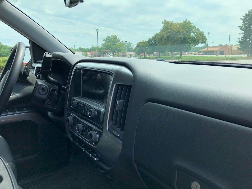 pampered 2016 Chevrolet Silverado 1500 LT All Star monster truck