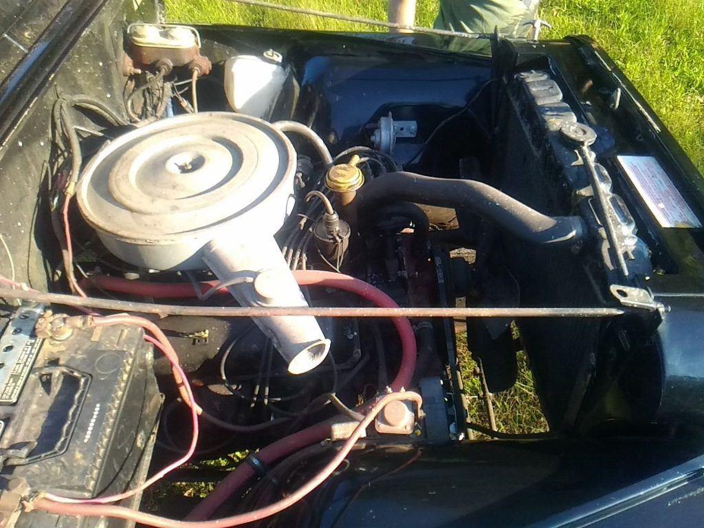 recent restoration 1974 Jeep CJ Base monster truck