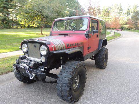 restored 1983 Jeep CJ Renegade 4×4 monster for sale