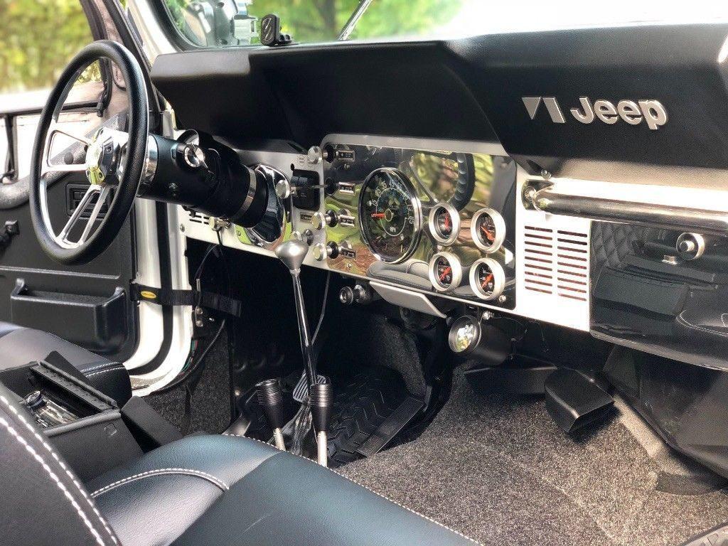 amazing build 1984 Jeep CJ Scrambler monster