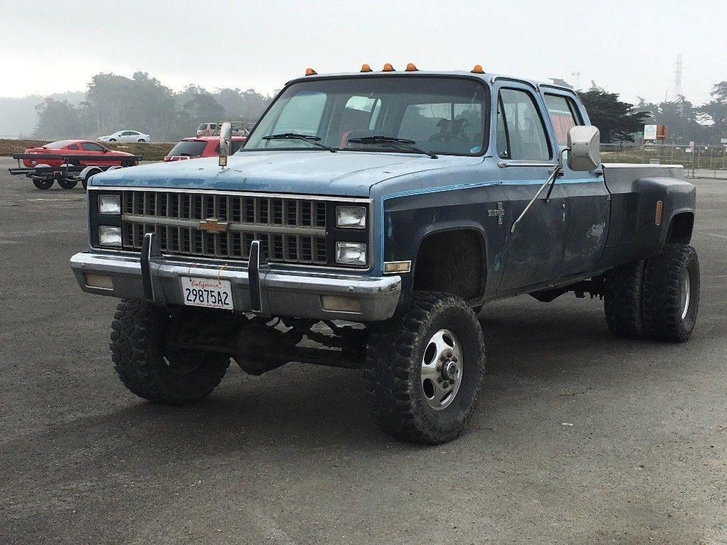 needs paint 1987 Chevrolet Silverado 3500 monster truck