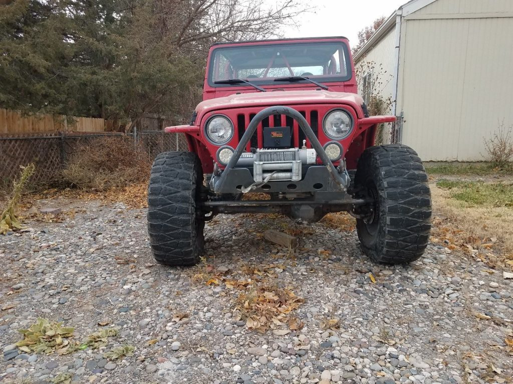 rock crawler 1997 Jeep Wrangler monster