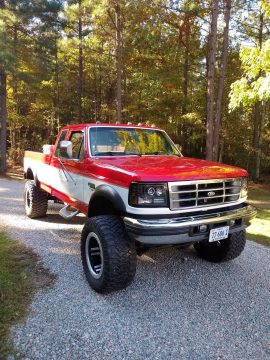 very clean 1997 Ford F 250 monster truck for sale